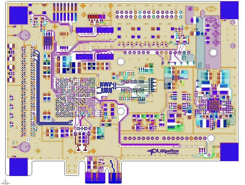 PCB BD ARTIX-7 ACADEMINO L1